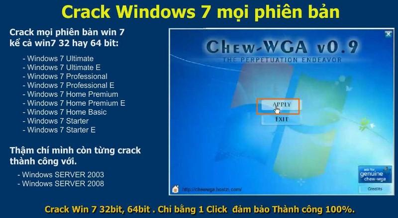 crack win 7 8 10