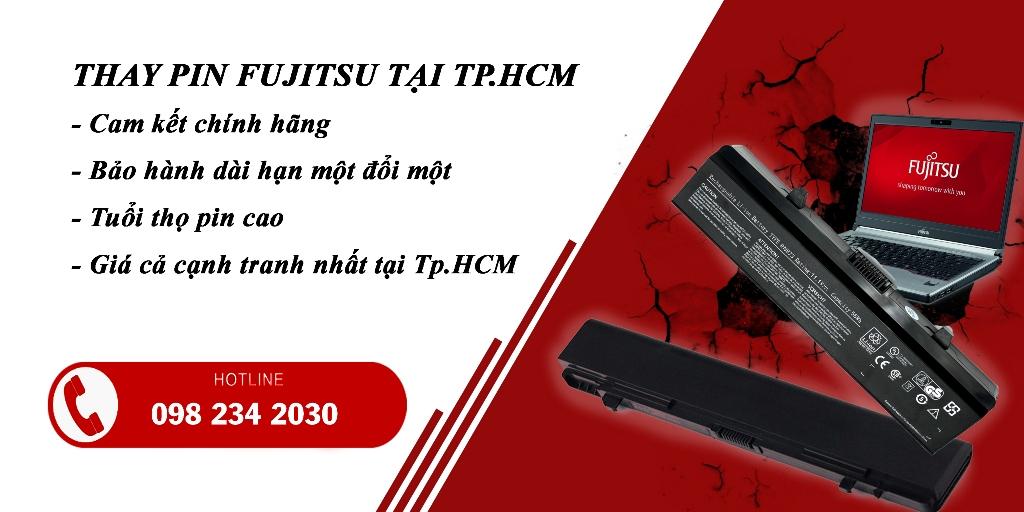 Thay Pin Laptop Fujitsu Lấy Liền