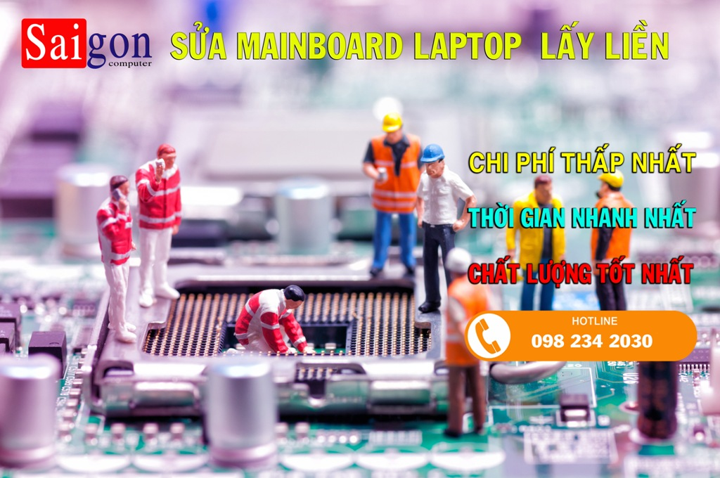 Sửa Mainboard Laptop Lấy Liền