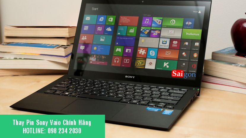 Thay Pin Laptop Sony Chính Hãng