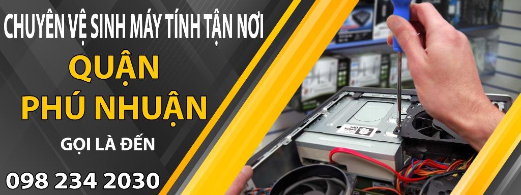 Vệ sinh máy tính Quận Phú Nhuận