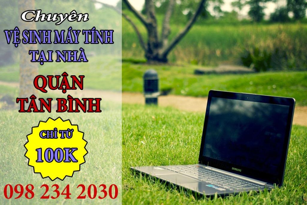 Vệ sinh máy tính Quận Tân Bình