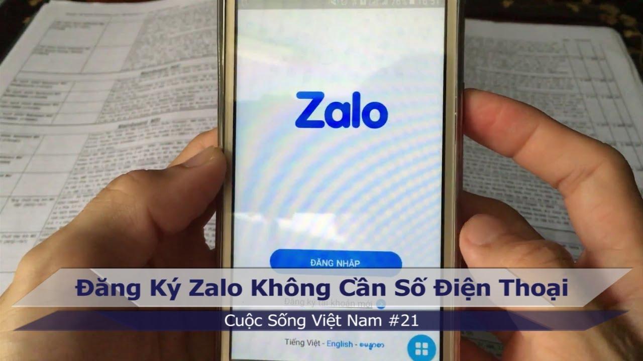 Cách đăng nhập Zalo không cần số điện thoại