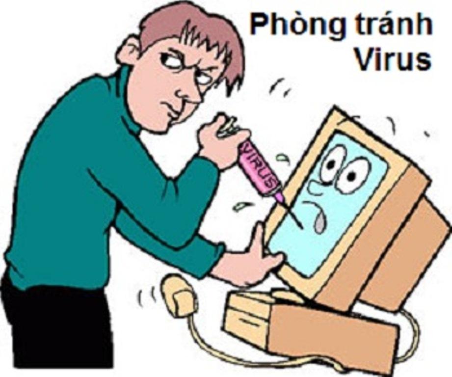 Máy tính bị virus phải làm sao