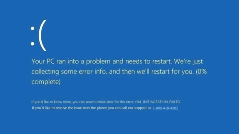 Sửa lỗi màn hình xanh- Blue Screen Of Death