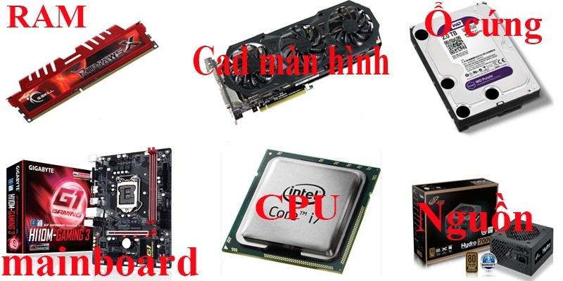 Tổng hợp các lỗi phần cứng máy tính