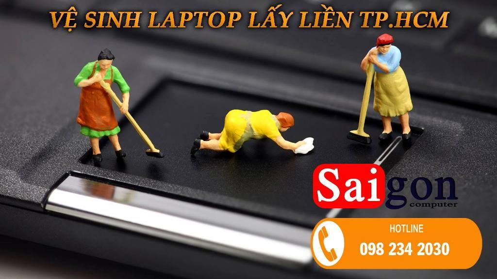 ve sinh laptop tphcm